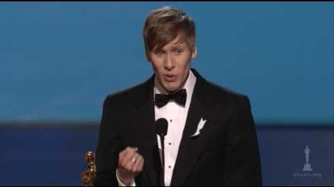 Dustin Lance Black Wins Original Screenplay 2009 Oscars