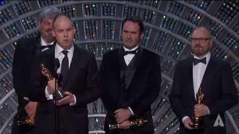 """Interstellar"" winning the Oscar® for Visual Effects"