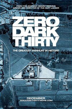 Zero Dark Thirty-poster