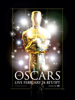 80th Academy Awards ceremony poster