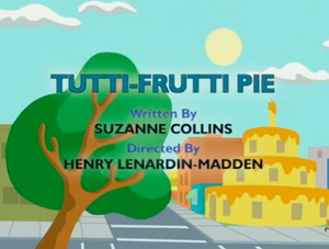 Tutti-Frutti Pie