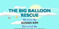 The Big Balloon Rescue