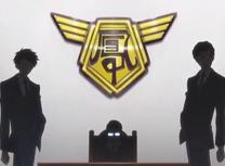 The ootori gorup logo with akito and yuuchi