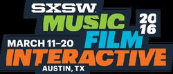 SXSW 2016 logo