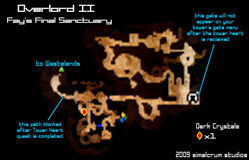 Fay's Final Sanctuary Map