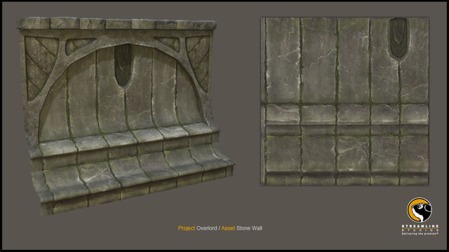File:Ancient Stone Wall 3d Model.jpg