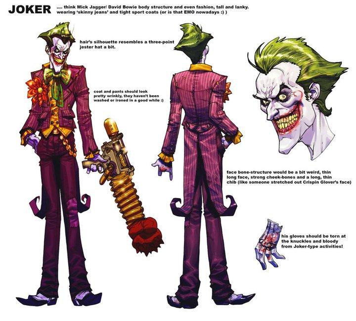 Best Character Design Tips : Image joker concept art g overlord wiki fandom