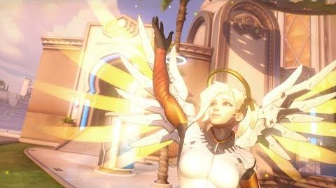 Overwatch Mercy highlight intro - Heroes Never Die