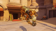 Roadhog bajie golden scrapgun