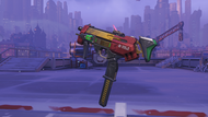 Sombra peppermint machinepistol