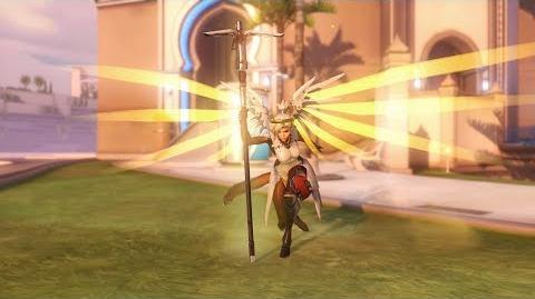 Overwatch Mercy emote - Caduceus