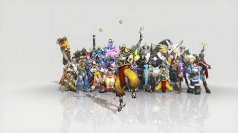 Overwatch - Anniversary Zenyatta emote - Dance