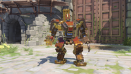 Bastion rooster golden recon
