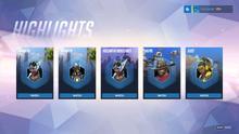 Highlight menu
