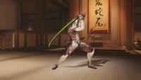 Genji swordstance