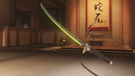 Genji malachite dragonblade