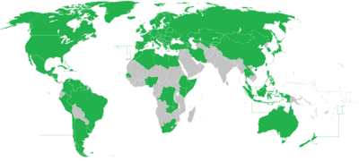 OVSC All countries map