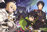 Seraph of the End Poster from PASH! Magazine