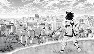 Yuichiro reaches the surface