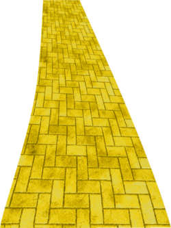 Yellow brick road png clipart by clipartcotttage-d7cl1mh