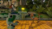Lego Dimensions Owen Grady & Blue the Velociraptor from Jurassic World with Scooby-Doo