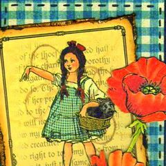 Dorothy Gale and Poppies