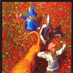 thumb|The Deadly Poppy Field. By artist Greg Hildebrandt.