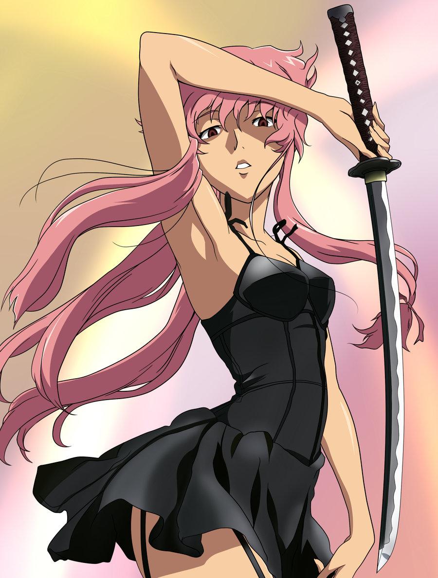 Dress up yuno gasai - Yuno Gasai Swordswoman 1