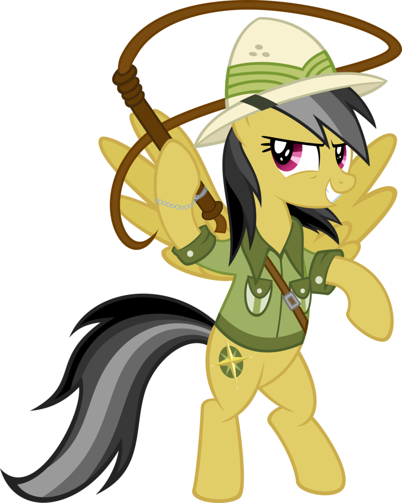 My Little Pony Coloring Pages Daring Do : Image daring do by tailinr lol d hs g heroes wiki