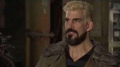 Pacific Rim Robert Maillet Interview - Idris Elba, Charlie Hunnam, Guillermo del Toro (2013)