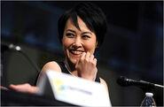 Rinko Kikuchi Comic-Con 2012