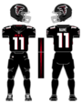 Falcons color uniform