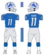 Lions color uniform