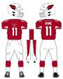Cardinals color uniform