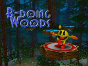 B-Doing Woods Title Screen
