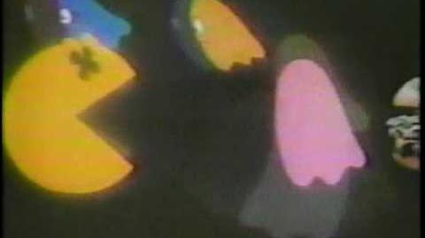 Vintage Arbys Pac Man Glasses Commercial