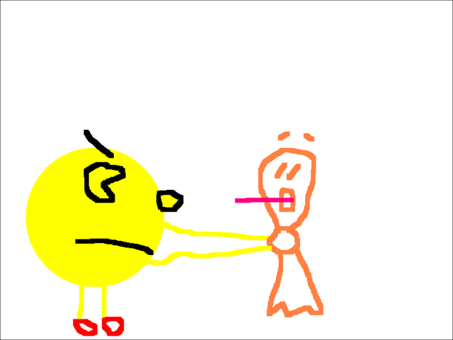 File:Pac-Man Strangling Clyde.png