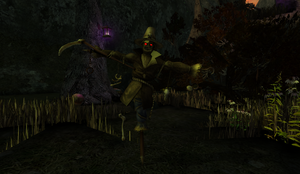 Scarecrow in Haunted Valley