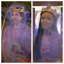 King Kunu And Queen Annabella Of Kinkow