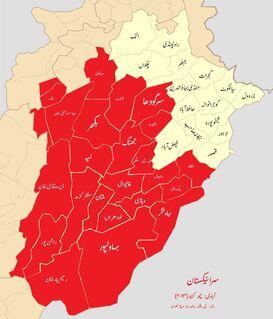 Map of Saraikistan
