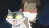 Mkgl-kate meneror dgn kucing