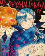 Vanitas No Carte Halloween