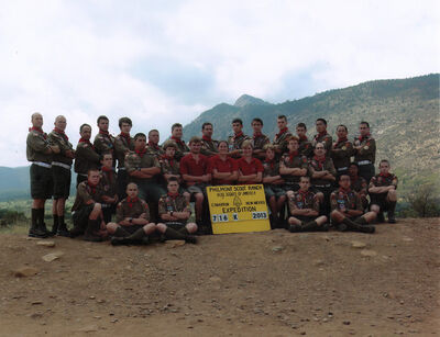 Philmont 2013 Troop 1 716-K-M