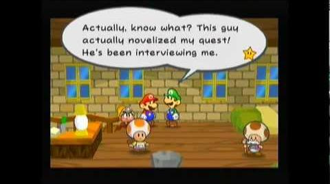 OJaronimo Paper Mario The Thousand-Year Door - Super Luigi