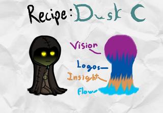 Dusk Recipe Card