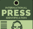 International press identification