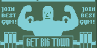 Get Big Town ad