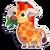 Sticker giraffe