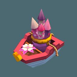 Deco Fireworks Boat