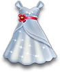 Wedding dress large